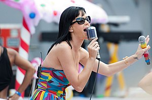 Katy Perry lors MuchMusic Video Awards 2010.
