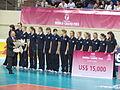 Kazakhstan women's national volleyball team. World Grand Prix 2011.jpg