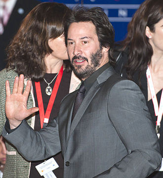 Keanu Reeves -  Reeves leaving the press conference for The Private Lives of Pippa Lee, Berlinale 2009