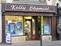 Kelly Chemist, Omagh - geograph.org.uk - 103193.jpg