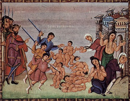 le massacre des innocents reni