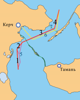 Kerch–Yenikale Canal Canal in the Kerch Strait