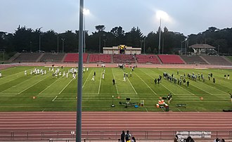 Kezar Stadium - A high school football game at Kezar in 2018