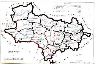 former administrative region of Maharashtra, India