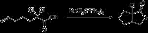 Dichlorotris(triphenylphosphine)ruthenium(II) - Image: Kharasch Addition Dichlorotris(triphen ylphosphine)rutheniu m(II)