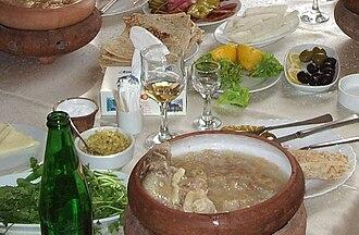 Armenian cuisine - Armenian khash