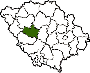 Khorolsky district on the map