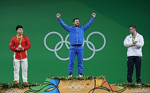 Kianoush Rostami - Image: Kianoush Rostami at the 2016 Summer Olympics (14)