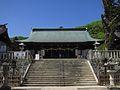 Kibitsuhiko-jinja haiden.JPG