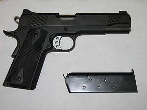 Kimber Custom - Image: Kimber Custom TLE (white)
