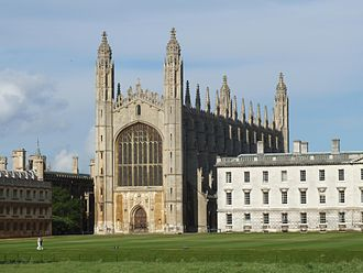 Four-centred arch - Image: Kings College Chapel Cambridge