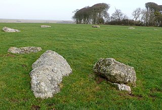 Kingston Russell Stone Circle Stone circle in Dorset, England
