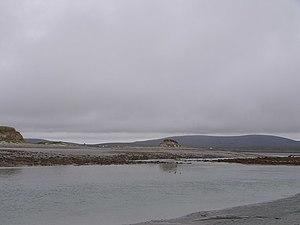 Southern tip of Kirkibost Island