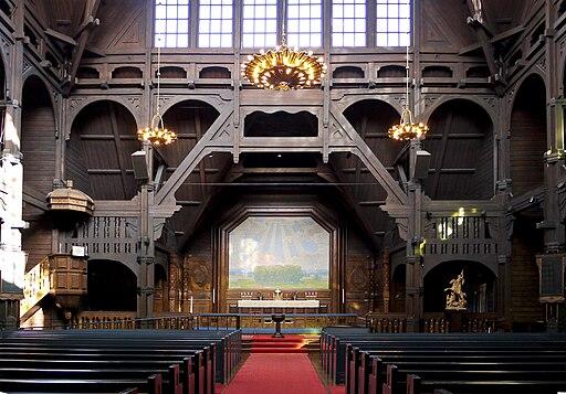 Kiruna kyrka nave-altar