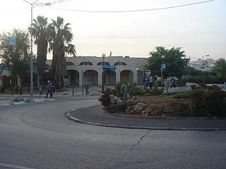 Kiryat Arba Place in West Bank, Israel