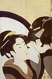 Kitagawa Utamaro - Beauty at her toilet.jpg