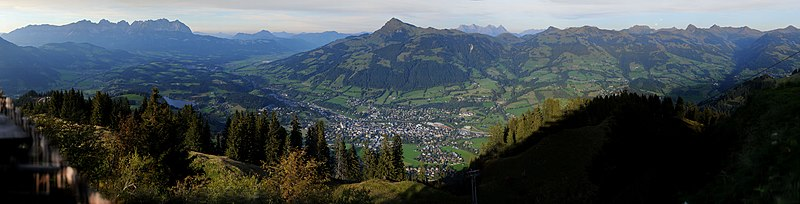 Panorama of Kitzbühel
