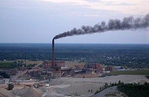 Kiviõli - Image: Kivioli chemical plant