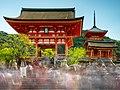 Kiyomizu-dera Long Exposure - Kyoto (27350059547).jpg