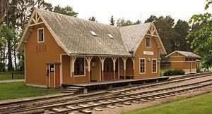 Norwegian Railway Museum - Image: Kløften stasjon Norsk jernbanemuseum
