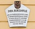 Klagenfurt Burggasse 8 Burg Burgkapelle Beschreibung 08082016 3554.jpg