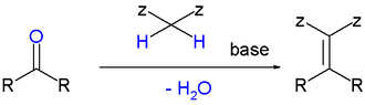 Knoevenagel condensation - General Knoevenagel layout