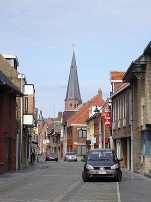 Koekelare - Image: Koekelare Dorpsstraat