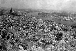 Timeline of Cologne - Overview of Cologne, April 1945