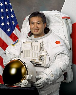 Koichi Wakata Japanese engineer and a JAXA astronaut