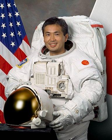 JAXA astronaut Koichi Wakata, NASA photo (19 March 2007)Source: Wikipedia 384px-Koichi_wakata.jpg