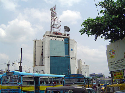 A telecommunications tower belonging to services provider Tata Communications Kolkatavsnl.JPG