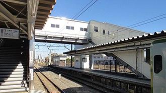 Komagawa Station - Image: Komagawa Station platform 1 north 20121121