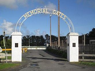 Kongorong, South Australia - Kongorong memorial gates