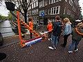 Koningsdag in Amsterdam, Lauriergracht foto 4.JPG
