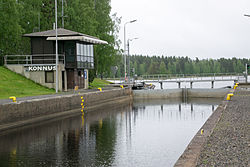 Konnus channel in Leppävirta