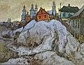 Konstantin Gorbatov - Evening in a Russian Village.jpg