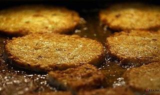Bindae-tteok mung bean pancake
