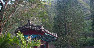 Iao Valley - Korean architecture