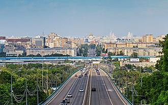 Luzhniki Metro Bridge - The upper level