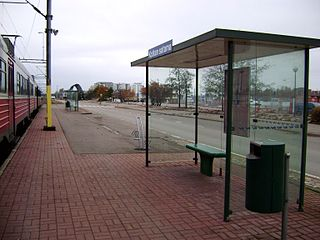 Kotka Harbour railway station Railway station in Kotka, Finland