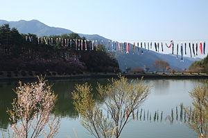 Tatsuno, Nagano - Kojinyama Park, Tatsuno