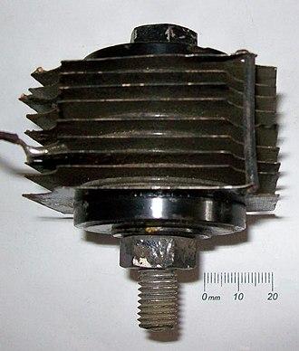 Metal rectifier - Copper-oxide rectifier
