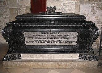 Michał Korybut Wiśniowiecki - Tomb of King Michael inside Wawel Cathedral