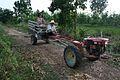 Kubota two-wheel tractor in Thailand.jpg