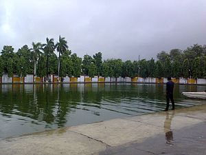 Gorakhnath Math - Bhim Kund at Gorakhnath Temple