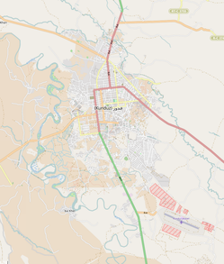 Kort over Kunduz by