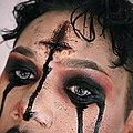 Kylee Fleek Scary Demonic Red Smokeyeye Makeup.jpg