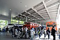 Kyoto railway museum promenade rolling stock.JPG