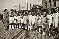 Lányok alkalmi ruhában 1947, Budapest. Fortepan 14736.jpg
