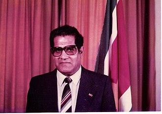 President of Suriname - Image: L.F.Ramdat Misier